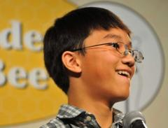 heritage charter's giabao tonthat wins county spelling bee on 2nd try